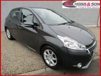 2015 PEUGEOT 208 1.4 HDI ACTIVE 5dr  **FREE ROAD TAX, LOW INSURANCE & 50+MPG** £6995.00