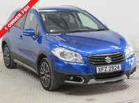 USED 2015 SUZUKI SX4 S-CROSS 1.6 SZ-T 5d 118 BHP SAT NAV  CAMERA Just one previous owner, first registered on the 30th June 2015, Full Service History and MOT until September 2019 and this car comes fully equipped with Sat Nav, Reversing Camera, Parking Sensors, A/c, Bluetooth, Alloy Wheels and 2 keys. In addition this car will come with a Free RAC Warranty and Free 12 months RAC Breakdown Cover. Nationwide Delivery Available. Finance Available at 9.9% APR Representative.