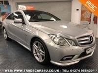 USED 2011 11 MERCEDES-BENZ E 350  CDI COUPE AMG SPORT SPEC DIESEL AUTO UK DELIVERY* RAC APPROVED* FINANCE ARRANGED* PART EX
