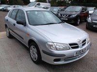 2001 NISSAN ALMERA 1.5 E 5d 88 BHP £750.00