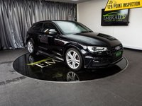 USED 2015 65 AUDI A3 2.0 TDI S LINE 3d 148 BHP £0 DEPOSIT FINANCE AVAILABLE, AIR CONDITIONING, AUDI DRIVE SELECT, BLUETOOTH CONNECTIVITY, CLIMATE CONTROL, CRUISE CONTROL, DAB RADIO, DAYTIME RUNNING LIGHTS, ELECTRONIC PARKING BRAKE, FULL S LINE LEATHER UPHOLSTERY, STEERING WHEEL CONTROLS