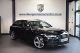 USED 2015 65 AUDI A6 AVANT 2.0 AVANT TDI ULTRA S LINE BLACK EDITION 5DR AUTO 188 BHP full audi service history MIDNIGHT BLACK WITH FULL BLACK LEATHER INTERIOR + SATELLITE NAVIGATION + BLUETOOTH + CRUISE CONTROL + HEATED FRONT/REAR SEATS + PARKING SENSORS + DAB RADIO + AUTOMATIC AIR CONDITIONING + HEATED MIRRORS + PARKING SENSORS + 20 INCH ALLOY WHEELS