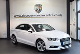 USED 2015 15 AUDI A3 2.0 TDI SPORT 4DR AUTO 148 BHP full service history  + FULL SERVICE HISTORY + 1 OWNER FROM NEW + BLUETOOTH + HEATED MIRRORS + DAB RADIO + AUTOMATIC AIR CONDITIONING + 17 INCH ALLOY WHEELS +