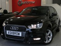 USED 2015 15 AUDI A1 1.6 TDI SPORT 3d 115 S/S £0 TAX, 1 OWNER FROM NEW, FULL AUDI SERVICE HISTORY, TINTED REAR WINDOWS, DAB DIGITAL RADIO, BLUETOOTH W/ AUDIO STREAMING, AUDI MUSIC INTERFACE, TYRE PRESSURE MONITORING SYSTEM, LEATHER 3 SPOKE MULTI FUNCTION STEERING WHEEL, SDS VOICE COMMAND, DIS TRIP COMPUTER W/ DIGITAL SPEED DISPLAY, FRONT FOG LIGHTS, SD CARD READER X2, CD DRIVE, ELECTRICALLY ADJUSTABLE HEATED DOOR MIRRORS, VAT QUALIFYING.