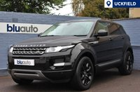 USED 2014 64 LAND ROVER RANGE ROVER EVOQUE 2.2 SD4 PURE TECH 5d 190 BHP Full Leather, Heated Seats, Navigation, Cruise Control, DAB, Bluetooth, Meridian Sound, Front & Rear Sensors