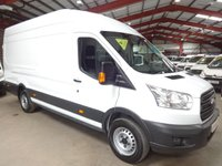 """USED 2014 64 FORD TRANSIT 2.2 350 H/R P/V 125 BHP EX LWB JUMBO-ONE OWNER-VERY LOW MILEAGE-SERVICE HISTORY """"YOU'RE IN SAFE HANDS"""" - AA DEALER PROMISE"""