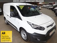 """USED 2015 65 FORD TRANSIT CONNECT 1.6 220 DCB  95BHP 5 SEAT CREW VAN-ONE OWNER-TWIN SIDE DOORS """"YOU'RE IN SAFE HANDS"""" - AA DEALER PROMISE"""