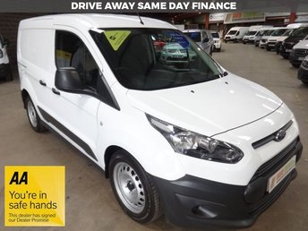 2015 FORD TRANSIT CONNECT 1.6 220 DCB  95BHP 5 SEAT CREW VAN-ONE OWNER-TWIN SIDE DOORS £8995.00