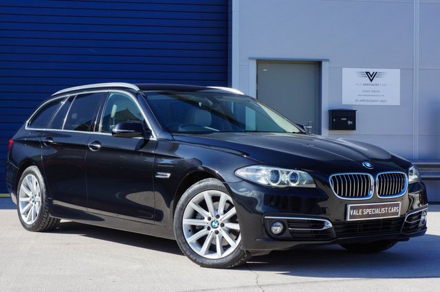 2013 63 BMW 5 SERIES 2.0 520D LUXURY TOURING AUTO 181 BHP