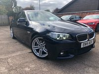USED 2014 BMW 5 SERIES 2.0 520D M SPORT 4dr AUTO 181 BHP Full BMW Service history.