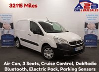 USED 2015 65 PEUGEOT PARTNER 1.6 HDI PROFESSIONAL 90 BHP, Touchscreen Model, 32125 Miles, Air Con, Bluetooth, 3 Seats, Cruise Control **Drive Away Today** Over The Phone Low Rate Finance Available, Just Call us on 01709 866668