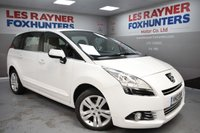 USED 2013 13 PEUGEOT 5008 1.6 E-HDI ACTIVE 5d AUTO 115 BHP Full Peugeot service history, Bluetooth, 7 Seats, Automatic
