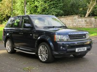USED 2011 11 LAND ROVER RANGE ROVER SPORT 3.0 TDV6 HSE 5d AUTO 245 BHP £83 A WEEK,NO DEPOSIT & F/S/H
