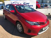 USED 2014 14 TOYOTA AURIS 1.4 ACTIVE D-4D 5d 89 BHP