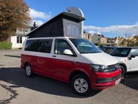 USED 2016 66 VOLKSWAGEN T6 CAMPERVAN BRAND NEW 4 BERTH CAMPER CONVERSION    TOP SPEC STUNNING