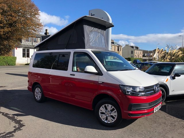 View our VOLKSWAGEN T6 CAMPERVAN BRAND NEW 4 BERTH CAMPER CONVERSION