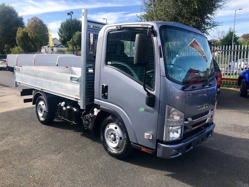 Isuzu Trucks Grafter New Isuzu N35 125st All Alloy Tipper 1365kgs