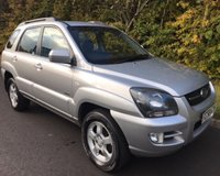USED 2008 58 KIA SPORTAGE 2.0 XE CRDI 5dr 4x4 138 BHP 6 MONTHS PARTS+ LABOUR WARRANTY+AA COVER