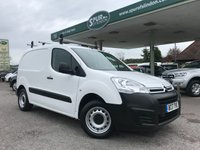 USED 2017 17 CITROEN BERLINGO 1.6 625 X L1 BLUEHDI 1d 74 BHP Only 16,500 Miles, Euro 6, Air Conditioning, Roof Rack, Finance Arranged.