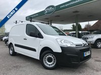 USED 2017 17 CITROEN BERLINGO 1.6 625 X L1 BLUEHDI 1d 74 BHP ULEZ COMPLIANT, Only 16,500 Miles, Euro 6, Air Conditioning, Roof Rack, Finance Arranged.