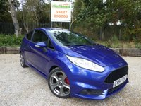 USED 2014 64 FORD FIESTA 1.6 ST-2 3dr Leather & Parking Sensors