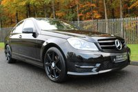 USED 2014 14 MERCEDES-BENZ C CLASS 2.1 C250 CDI AMG SPORT EDITION PREMIUM 4d AUTO 202 BHP A STUNNING HIGH SPECIFICATION C250 WITH COMMAND SAT NAV, REVERSING CAMERA AND MORE!!!