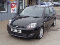 USED 2007 07 FORD FIESTA 1.6 GHIA 16V 5d AUTO 100 BHP FULL LEATHER  AUTO 54K