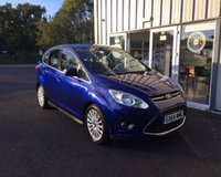 USED 2014 64 FORD C-MAX 1.6 TITANIUM ECOBOOST 150 BHP THIS VEHICLE IS AT SITE 1 - TO VIEW CALL US ON 01903 892224