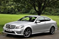 USED 2012 12 MERCEDES-BENZ C CLASS 1.8 C180 BLUEEFFICIENCY AMG SPORT 2d AUTO 156 BHP