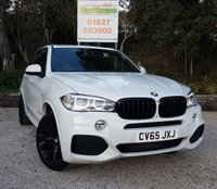 USED 2015 65 BMW X5 3.0 XDRIVE40D M SPORT 5dr AUTO  HUGE Specification, FBMWSH