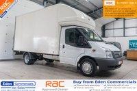 2014 FORD TRANSIT 2.2 350 DRW 1d 124 BHP *LUTON VAN* £8995.00