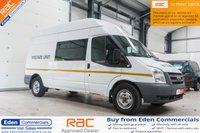 2011 FORD TRANSIT 2.4 350 H/R 115 BHP *WELFARE CREW VEHICLE* £8995.00
