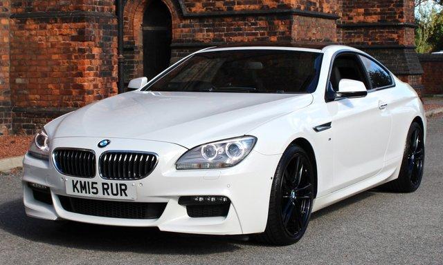 2015 15 BMW 6 SERIES 3.0 640D M SPORT 2d AUTO 309 BHP