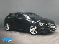 USED 2016 66 AUDI A3 2.0 TDI S LINE 3d  * 0% Deposit Finance Available