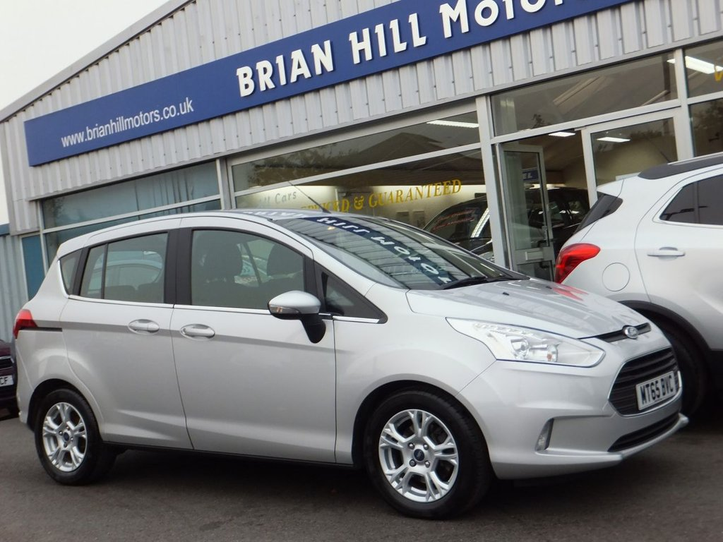 Ford B Max 2015 Zetec 8695 Used 65 16 5dr Automatic