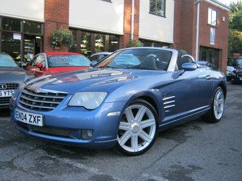 2004 CHRYSLER CROSSFIRE 3.2 V6 2d AUTO 215 BHP £3495.00