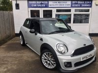 2013 MINI HATCH COOPER 1.6 COOPER 3d 122 BHP £8995.00