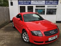 USED 2005 55 AUDI TT 1.8 T 3d 190 BHP UNIQUE OPPORTUNITY 19,547 MILES  FSH ONE LADY OWNER OUTSTANDING CONDITION