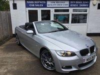 2007 BMW 3 SERIES 3.0 330I M SPORT 2d AUTO 269 BHP £11995.00