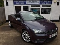 USED 2008 57 FORD FOCUS 2.0 CC2 2d 135 BHP