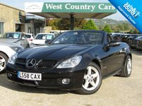 USED 2008 58 MERCEDES-BENZ SLK 1.8 SLK200 KOMPRESSOR 2d AUTO 184 BHP Air Scarfs And Heated Seats