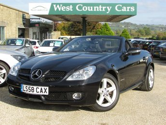 2008 MERCEDES-BENZ SLK 1.8 SLK200 KOMPRESSOR 2d AUTO 184 BHP £9000.00