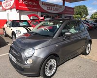 2010 FIAT 500 1.2 LOUNGE DUALOGIC AUTO **ONLY 38,000 MILES** £5495.00