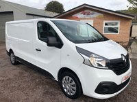 USED 2016 65 RENAULT TRAFIC 1.6 LL29 BUSINESS PLUS DCI S/R P/V 1d 115 BHP