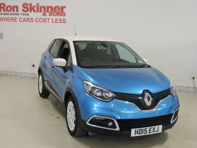 View our 2015 15 RENAULT CAPTUR 1.5 DYNAMIQUE S NAV DCI 5d 90 BHP