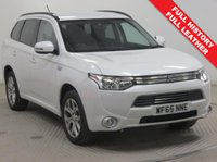 USED 2015 65 MITSUBISHI OUTLANDER 2.0 PHEV GX 3H 5d AUTO 162 BHP FULL LEATHER 4WD Full Mitsubishi History, serviced September 2016 at 2,478 miles, September 2017 at 4,615 miles, and September 2018 at 6,663 miles. This stunning example of a Mitsubishi Phev 4x4 AWD also comes with Full Leather, Privacy Glass, Leather Multi Functional Steering Wheel, Bluetooth, Air Conditioning, Cruise Control, Parking Sensors, Alloy Wheels, Keyless Entry, the balance of Mitsubishi Warranty until September 2020 and has an MOT up to 27th September 2019 and £0 Road Fund Licence.