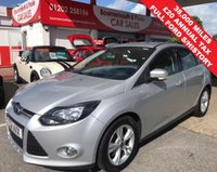 2011 FORD FOCUS 1.6 ZETEC TDCI 5d 113 BHP £20 TAX GROUP, ONLY 38,000 MILES £6995.00
