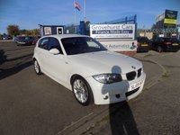 USED 2009 59 BMW 1 SERIES 2.0 118D M SPORT 5d 141 BHP