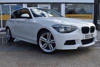 2012 BMW 1 SERIES 2.0 120D M SPORT 5d 181 BHP £9799.00