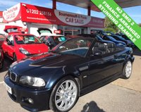 USED 2006 56 BMW M3 3.2 M3 SMG 2 338 BHP CABRIOLET